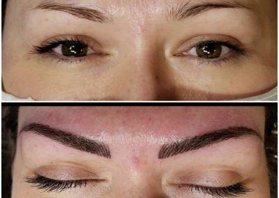 nanoblading eyebrow tattoos