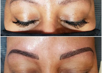 before-after tattooed eyebrows