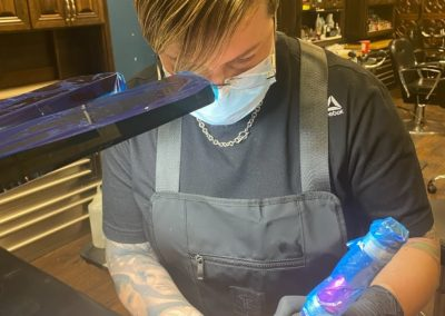 April DeMarco creates 3D areola tattoo