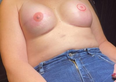 one complete 3D areola tattoo