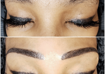 Crystal brows