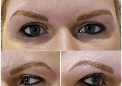 Blonde brows trio